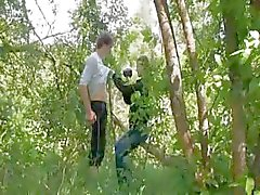 Vår första erotik i skogen