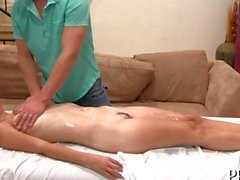 Sweet drilling after massage
