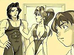 Sexy bionde Cartoon ottiene il Eiaculazioni