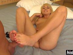 Amazing dick riding featuring Valerie White