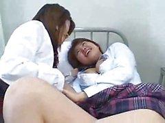 De Lesbos japonais pettings