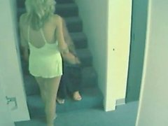Hidden Cam Fuck On Stairs