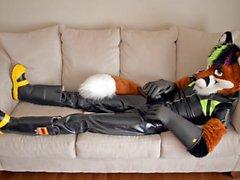 rubber fox wanking