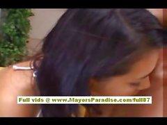 Мария Одзава брюнет китайской Оральный и порево