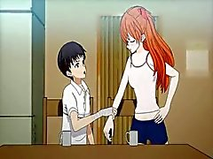 Quadri anime adolescenti gode figa