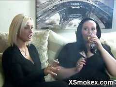 Juicy Smoking Chick Wild Naked