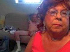 Granny CD sucks Horny Mountain Hick........