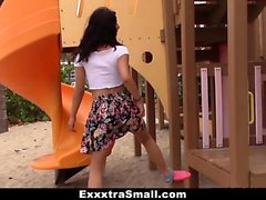 ExxxtraSmall - Petite Latina Brutally Fucked