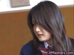 Free jav of Amazing Asian schoolgirl
