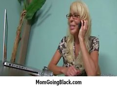 Nasty mom rides huge black monster cock 8