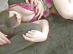 Серьезное киской стимуляция пышногрудая Honami Уэхара