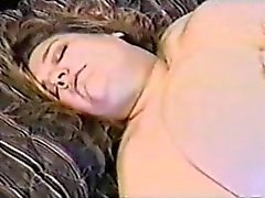 Sbbw Blonde orgasm with her lover