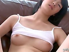 Small Tit Asian Teen Masturbates After Stript