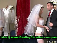 Kayla Paige atemberaubenden Braut Busty