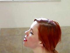PISS in meinem Mund, Sperma auf mein Gesicht - TwoThornedRose & SynSync
