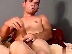 Nude men Lucky Boy Gets Two Big Cocks