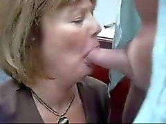 Hustru Öva på kontoret ger färdighet