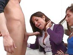 Yummy stepmom Tara Holiday teaches anal