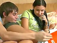 Horny Teen Tutored Then Fucked