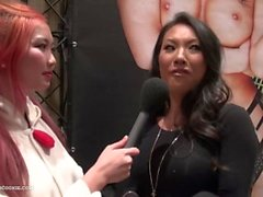 Pornstar Asa Akira admits it's OK to Masturbate during Asian reporter chat