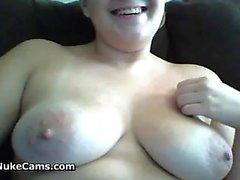 Fat Girl Fingering Her Pussy