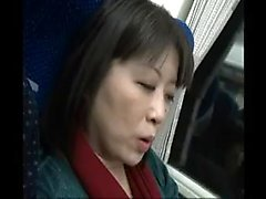 Luscious Japanese milf has her lover pounding her pussy fro