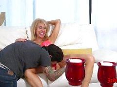 Erica Lauren Enjoying A Young Dick