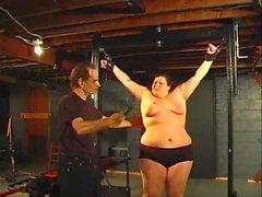 BBW Hottie explores her submissive side