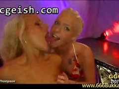 Alice and Lucie piss thirsty blondes 2