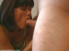 petite milf gets fucked and cum on her chest