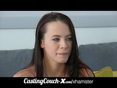 CastingCouch-X 19yo flexible whore tries porn