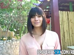 PropertySex - Gorgeous agent fucks homeowner to sell house