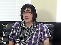 Gay twinks Adorable emo guy Andy is new to porn but he soon