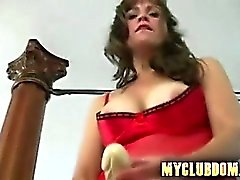 Hardcore fucked by his wife