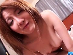 Perfect POV fuck with young schoolgirl Yuna Hirose