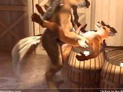 Fox nella Stabile