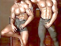 3D Gay Muscle Boys!