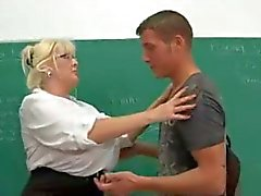 big tits teacher hardfucked