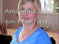 Amandine hälla son Beau Frere
