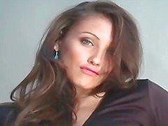 Gorgeous brunette honey Celeste Star part1