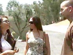 Eva Angelina and Rachel Starr share Julian and fuck him well