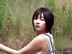 Amazing kuuma todellinen Aasian malli poseeraa Osa 6