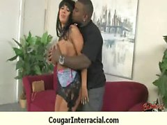 Cougar fucked deep by black monster dick 26