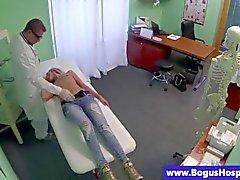 Arztes nutzt sein Patient