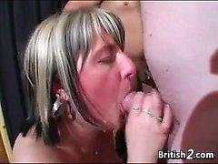 Facials For Amateur Mature British Whores