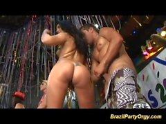 brazilian carneval Partei Orgien