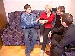 Irina och 4 killar 2