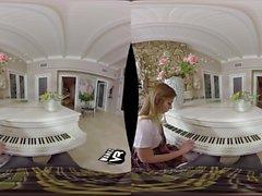 Schoolgirl förför Hon Piano lärare! (VR)