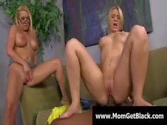 Big tit sexy milfs enjoy black cockhard and deep in pussy 05
