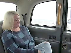 Cab driver fucks big ass blonde pov voyeur
